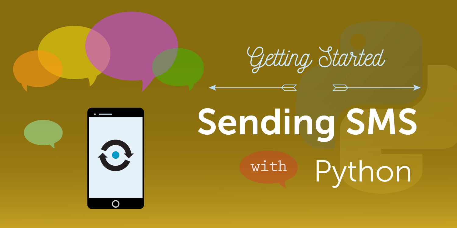 How to Send SMS Messages with Python, Flask and Vonage