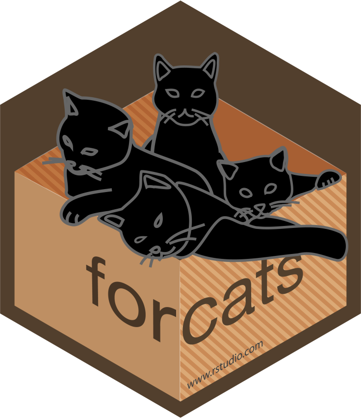 forcats hex sticker