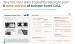 Dialogue-based CALL: a multilevel meta-analysis