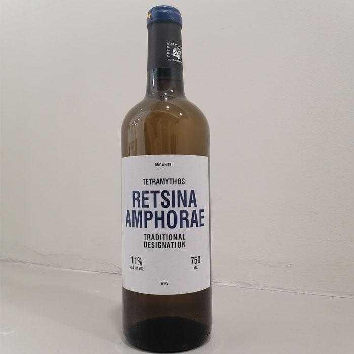 Ρετσίνα Βιολογική Τετράμυθος - 0.75l