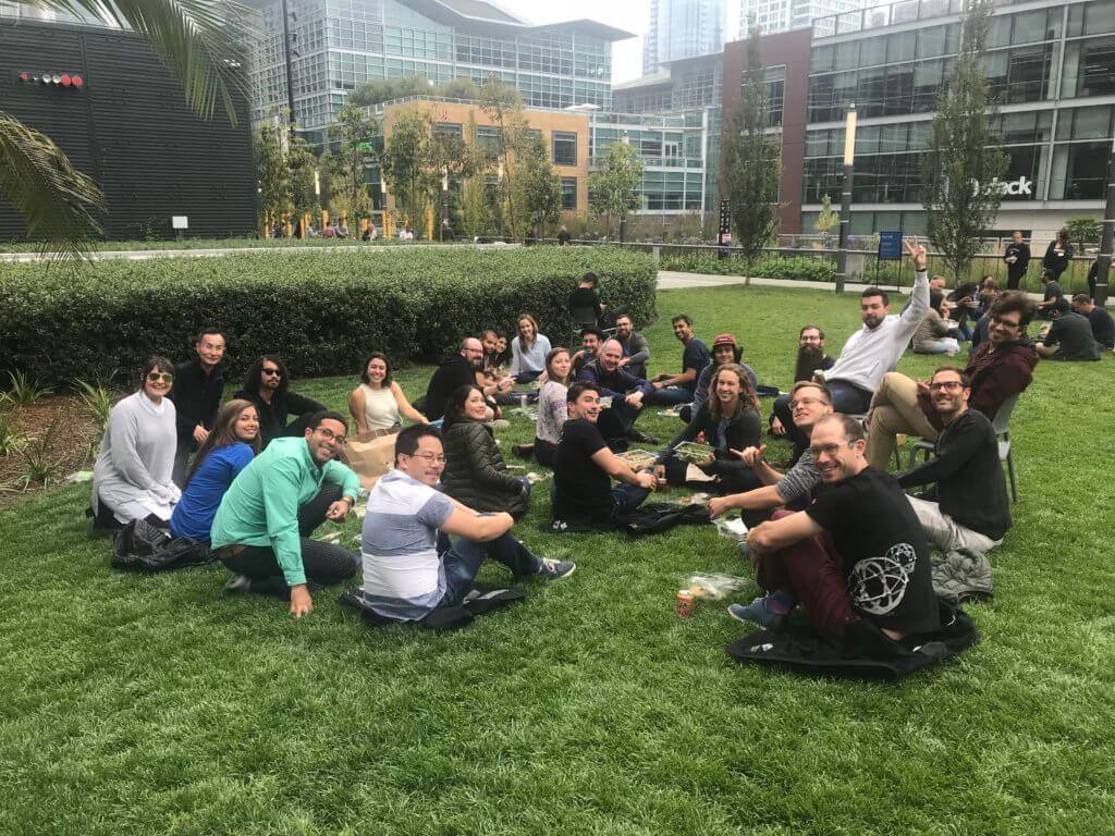 Lightstep Wins a Best Place to Work in the Bay Area - team picnic