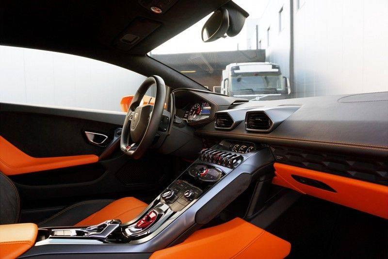 Lamborghini Huracan LP610-4 5.2 V10 Arancio Borealis afbeelding 6