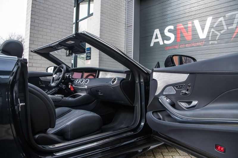 Mercedes-Benz S-Klasse Cabrio 500 , 456 PK, AMG/In/Exterieur, Swarovski, Head/Up, Airscarf, 29DKM, NIEUW!! afbeelding 12