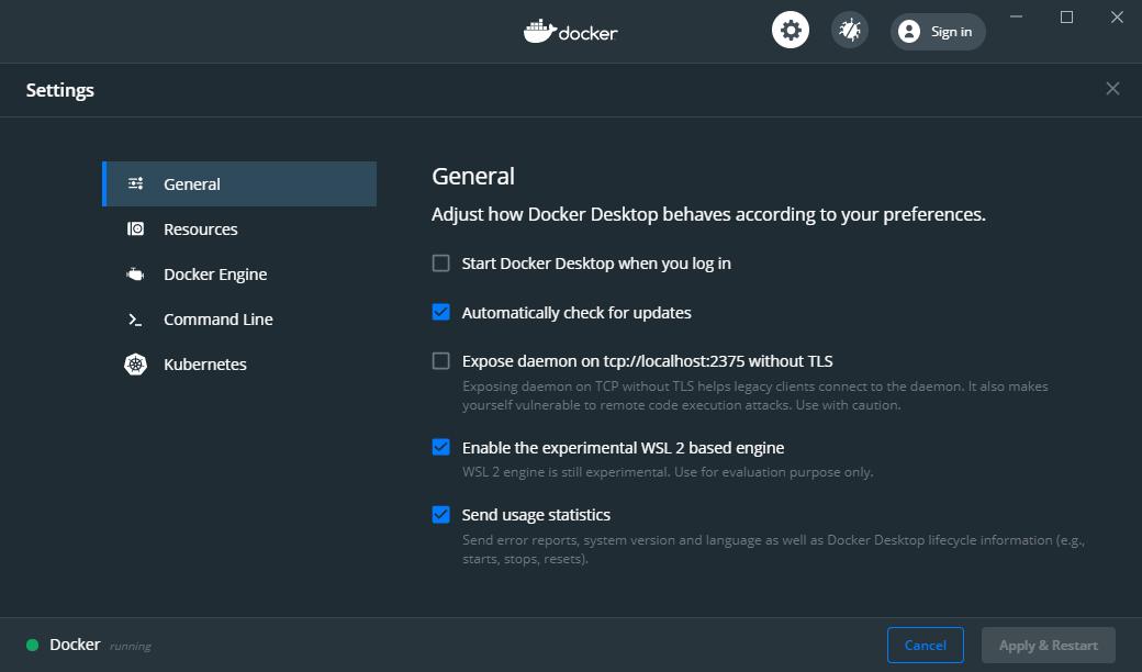 docker-settings-wsl2