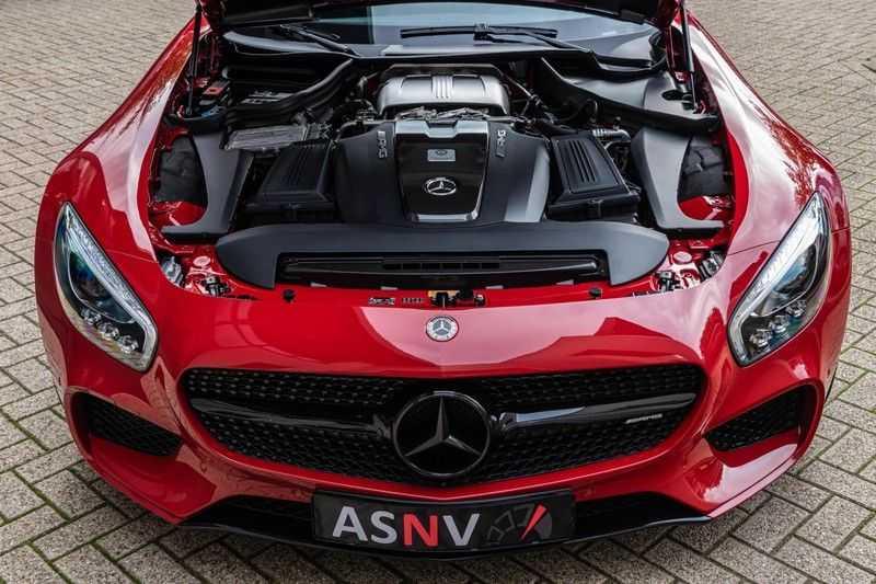 Mercedes-Benz AMG GT 4.0 S, 510 PK, Sportuitlaat, AMG Dynamic Plus, Keramiek, Schaalstoelen, DAB, Carbon, Pano/Dak, UNIEK!! afbeelding 20