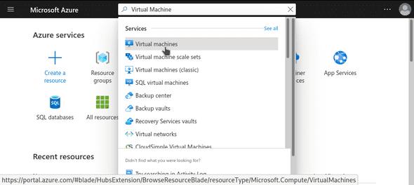 Cari Virtual Machine