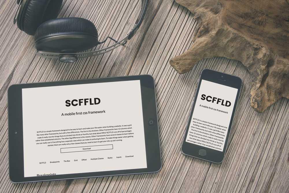 SCFFLD mockup two