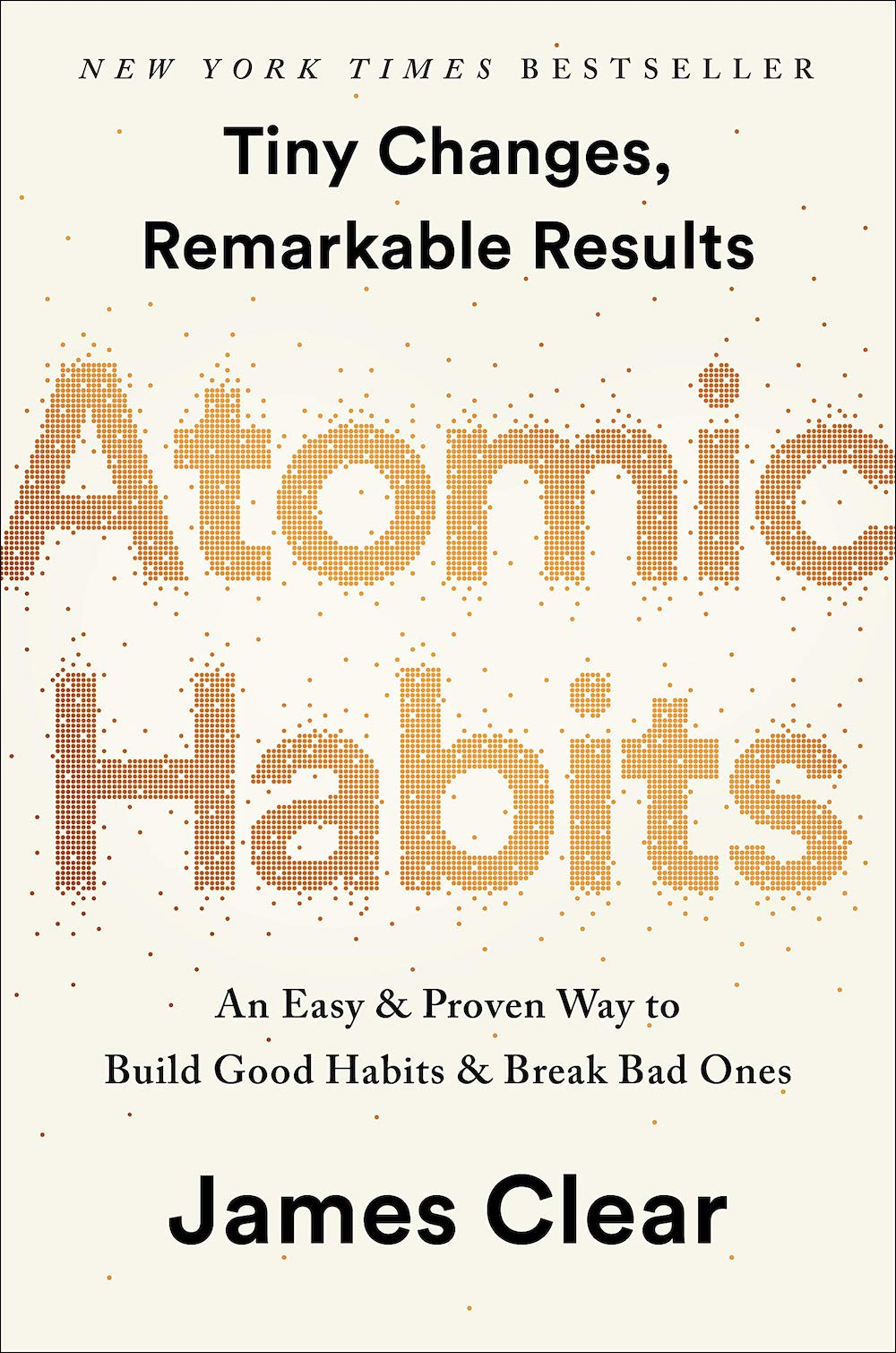 The cover of Atomic Habits