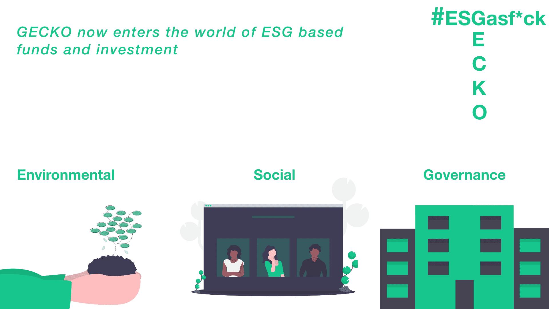 Lets talk about ESG