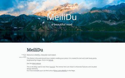 MeiliDu