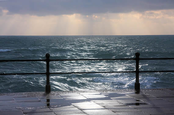 Sea From Penzance Prom