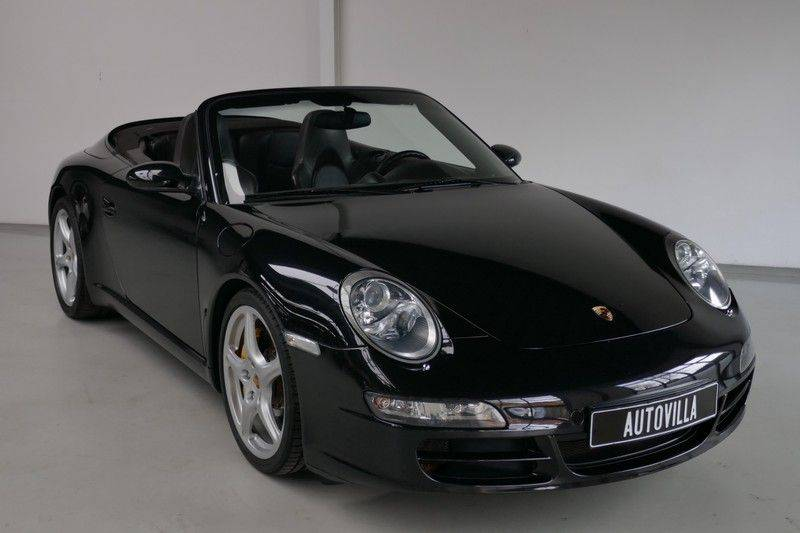 Porsche 911 Cabrio 3.8 Carrera S Keramisch - Sport chrono afbeelding 6