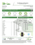 Medium - 25 to 50 lbs - Certificate of Analysis