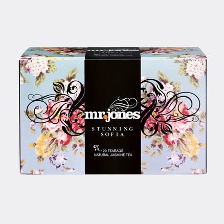 Mr. Jones, the world-renowned tea brand
