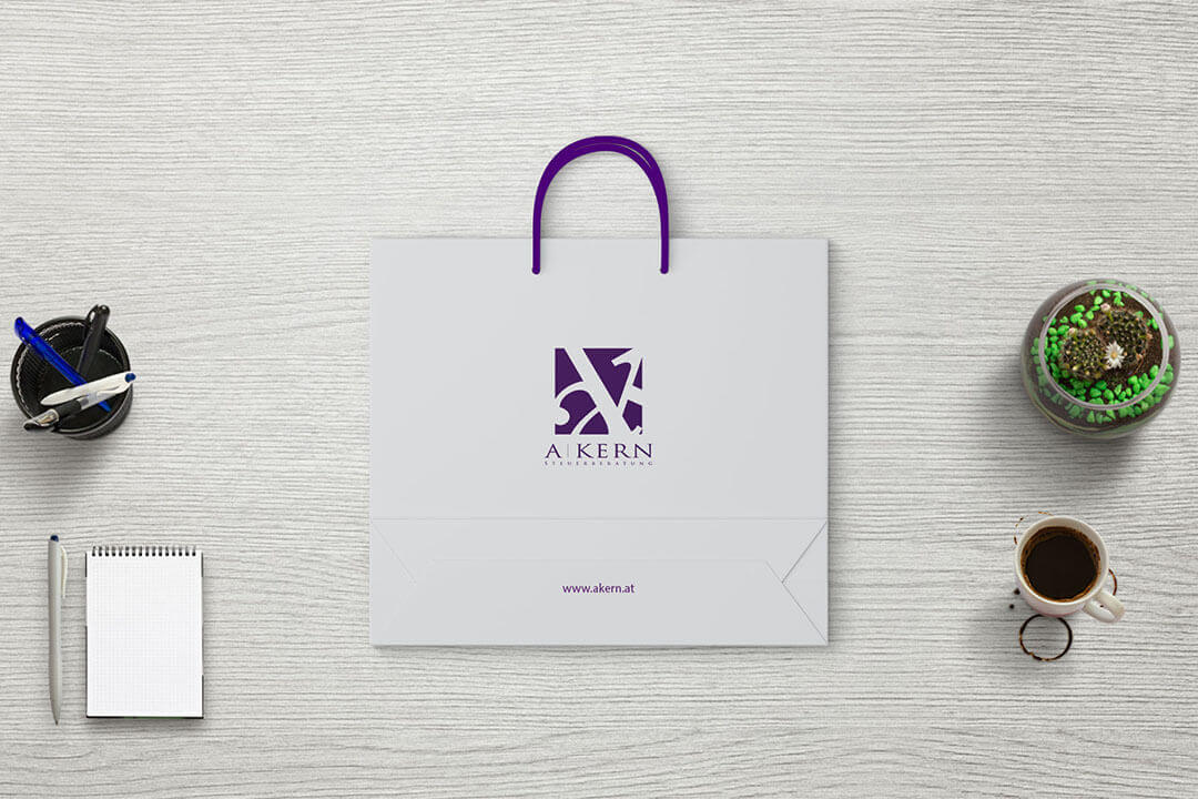 Project A-KERN Tax Consultancy, Graphic Design Bag