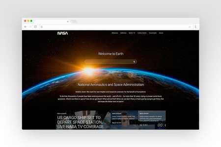 Web design for NASA Case Study