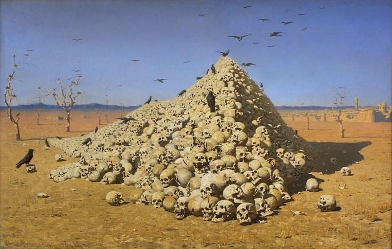 Василий Верещагин «Апофеоз войны», 1871