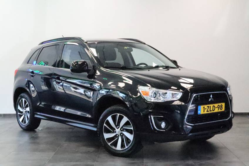 """Mitsubishi ASX 1.6 Cleartec Invite+ Airconditioning Bluetooth 17""""LM Trekhaak 117 PK! afbeelding 1"""