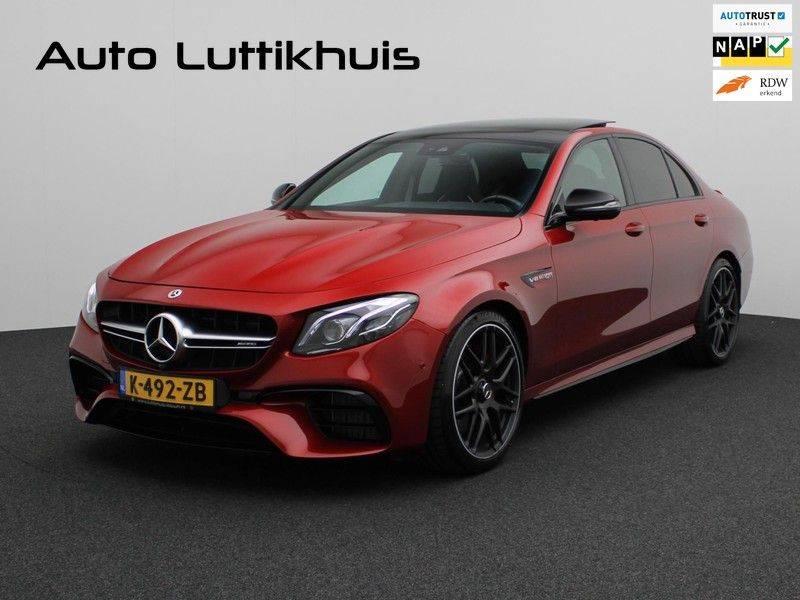 Mercedes-Benz E-Klasse 63 S AMG 4Matic-plus kuipstoelen pano carbon afbeelding 1