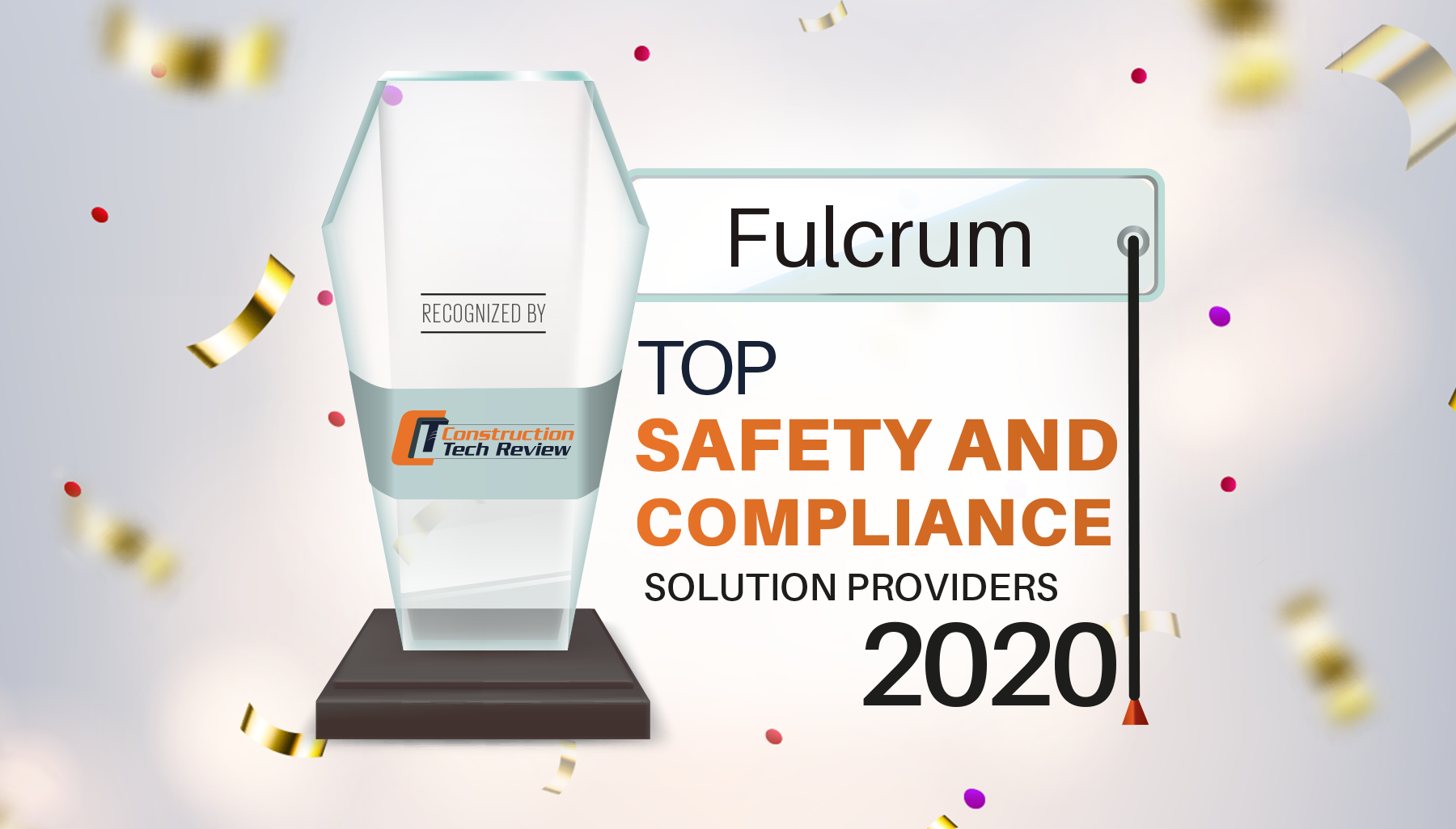 Construction Tech Review Names Fulcrum a Top Provider of Safety and Compliance Solutions