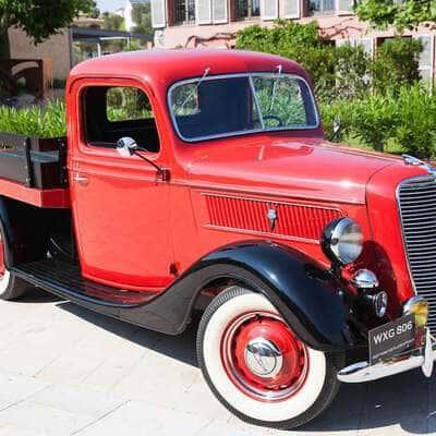 Ford V8 Flatbed Pickup 1937 1