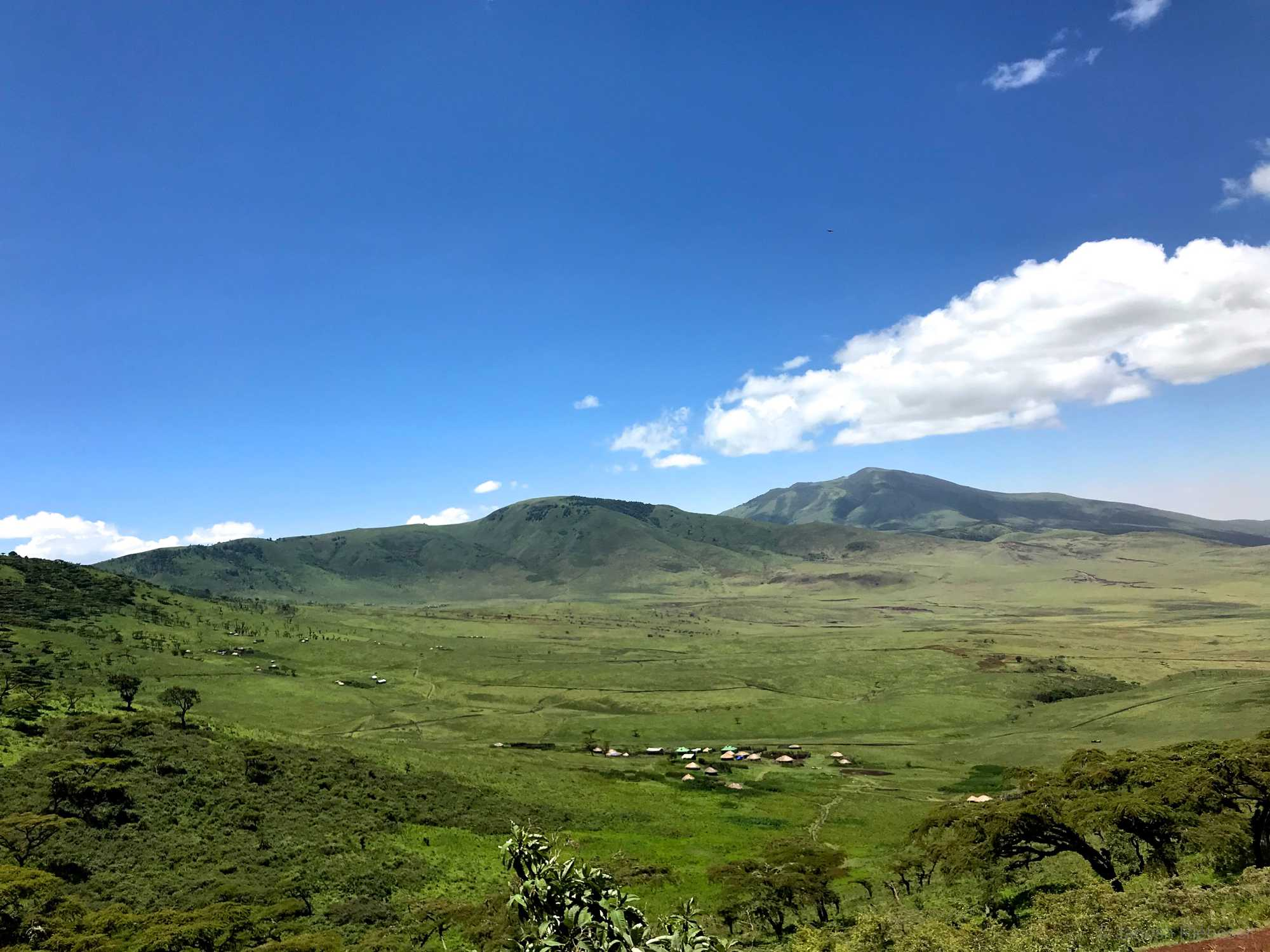 Tanzania Ngorongoro Crater Village
