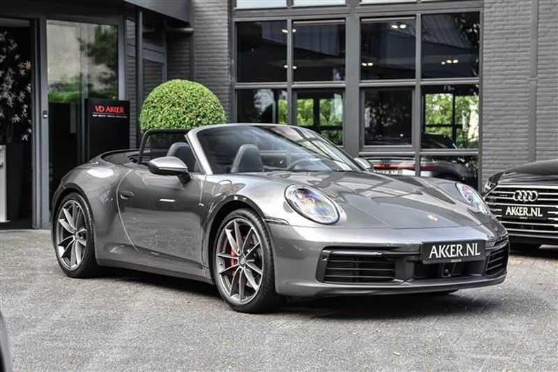 Porsche 911 S CABRIO SPORT CHRONO+SP.UITLAAT+ACC NP.203K afbeelding 16