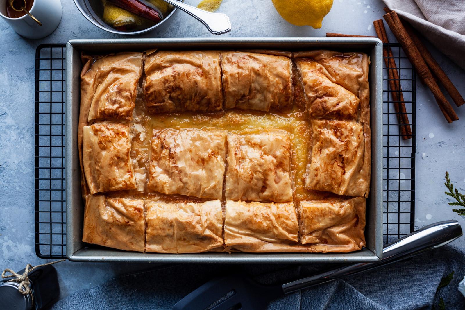 Galaktoboureko – Greek Custard Pie