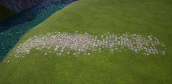 Terrain Painted Path