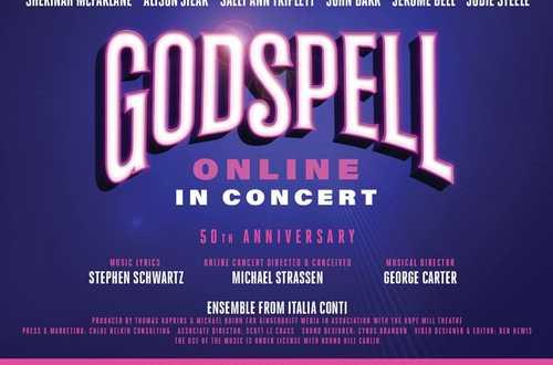 Godspell 50th Anniversary Online in Concert