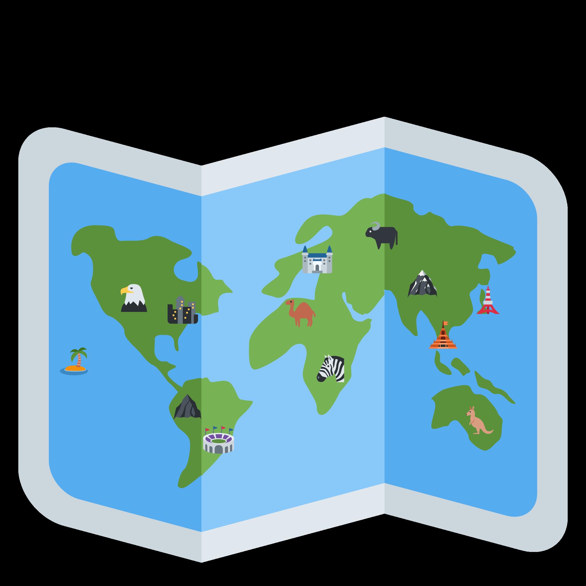 "Emoji Riddlesâ""¢: World Traveler by Sidework AI"