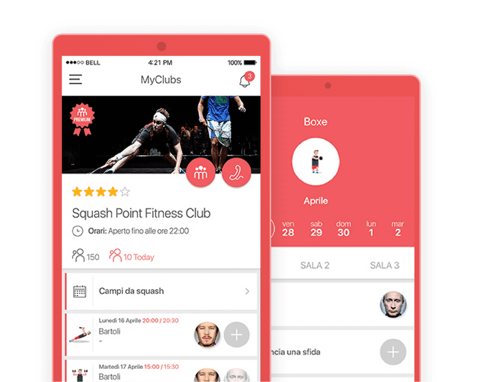 Sports industy app development