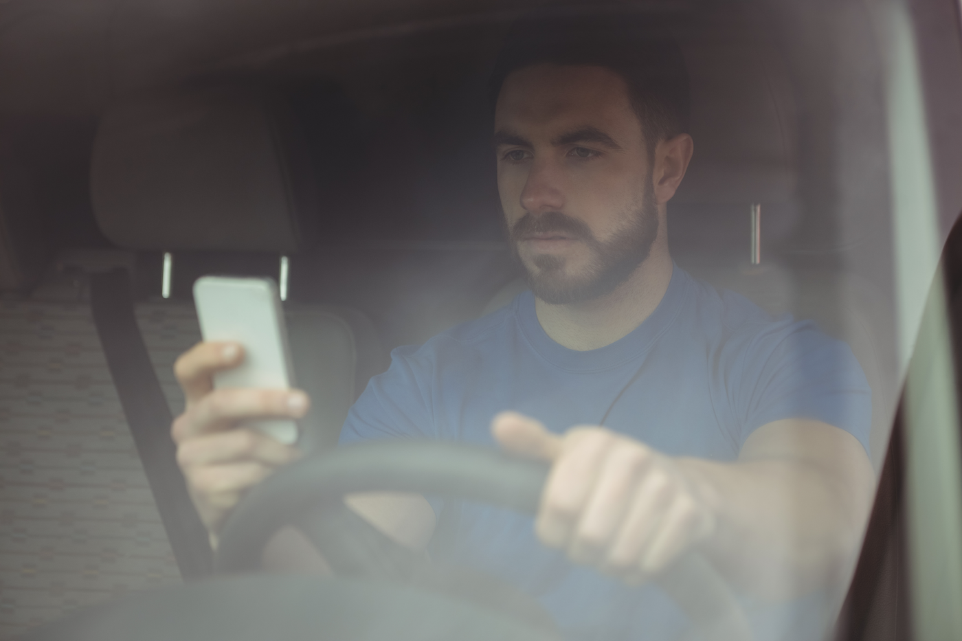driver-on-phone