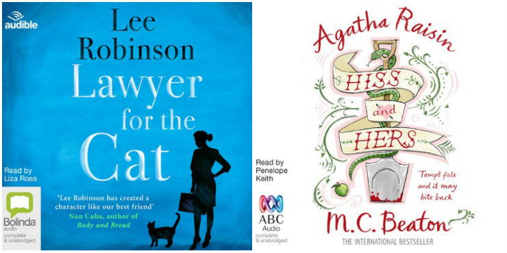 Lawyer for the Cat, Agatha Raisin: Hiss and Hers