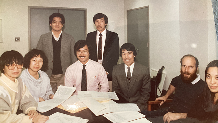 AALDEF board 1984. Photo courtesy of AALDEF