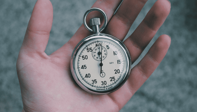 Pocketwatch in hand for time #productivity
