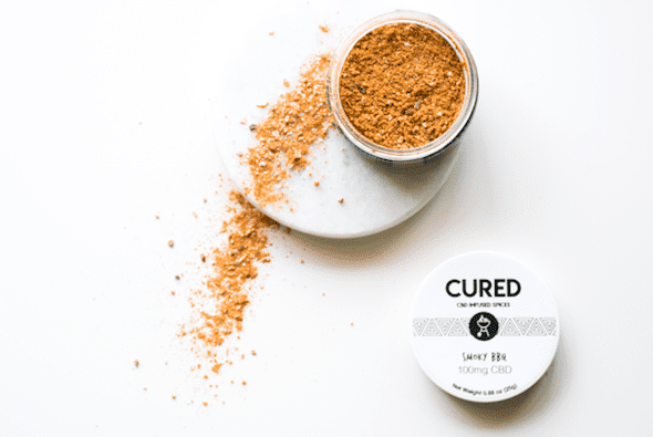 Cured Nutrition Smoky BBQ CBD spice