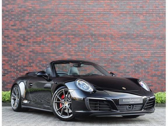 Porsche 911 Cabrio Carrera 4S *ACC*Bose*Chrono*Vierwielbesturing*Camera*Vol!*
