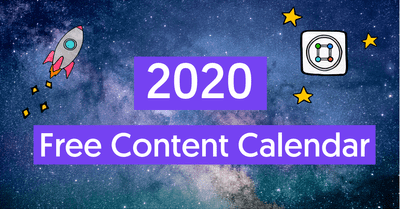The only Content Calendar Template you'll need in 2020 image