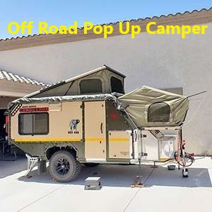 Off road pop up camper