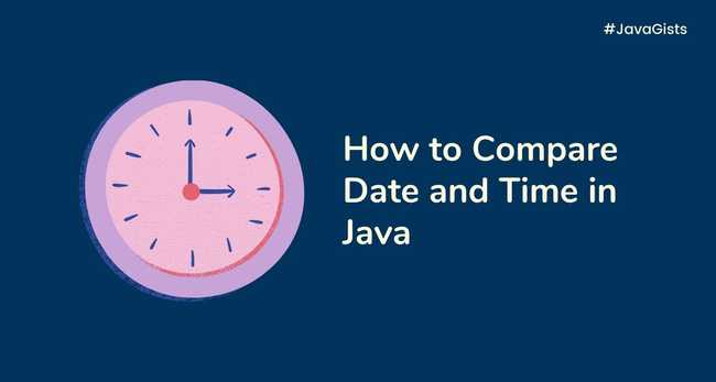 How to compare Date and Time in Java