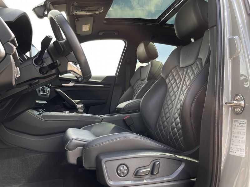 Audi SQ5 3.0TFSI 354pk Quattro Black Optic Lucht HUD Standk B&O Pano Ruitleder Tr.Haak ACC afbeelding 11