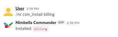 billing command to display aws billing info in slack