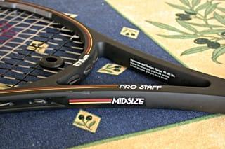 Pete Sampras racquet