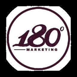 180 marketing logo