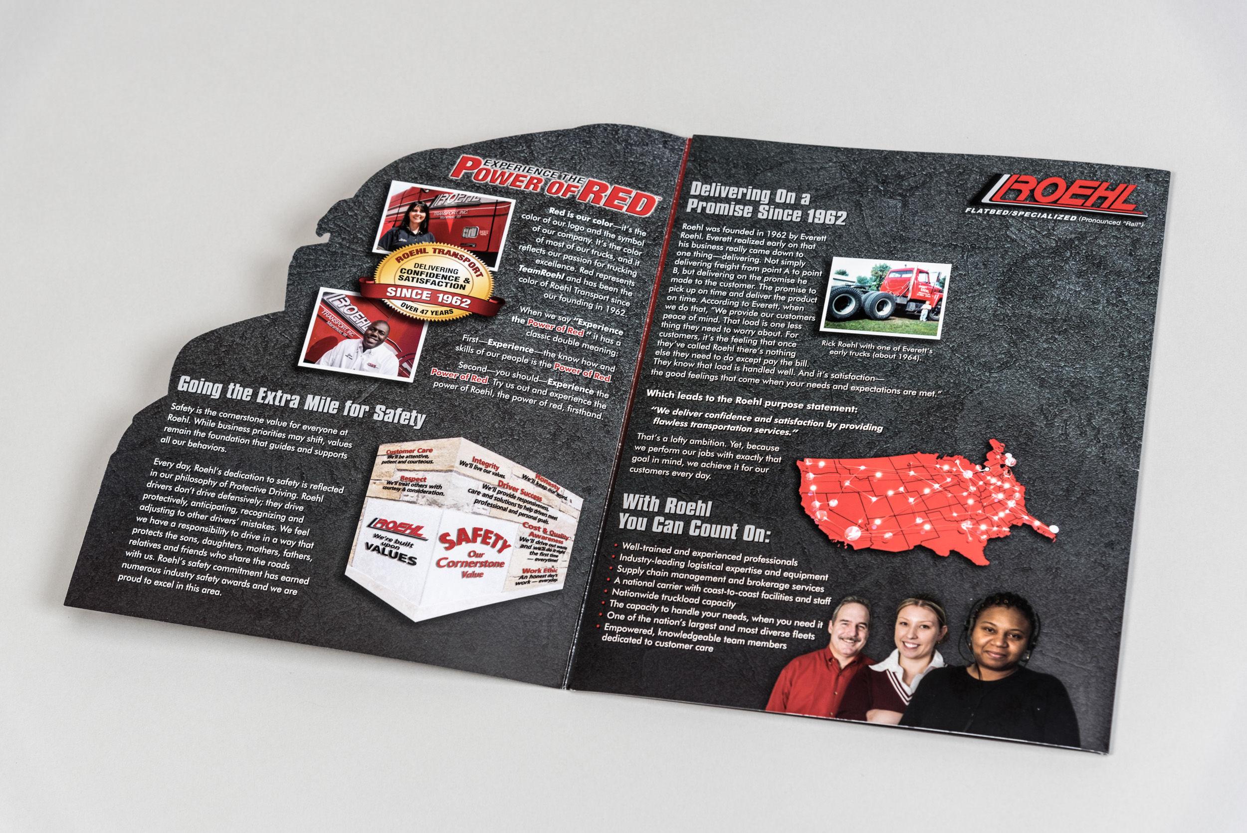 Roehl Brochure Half Open