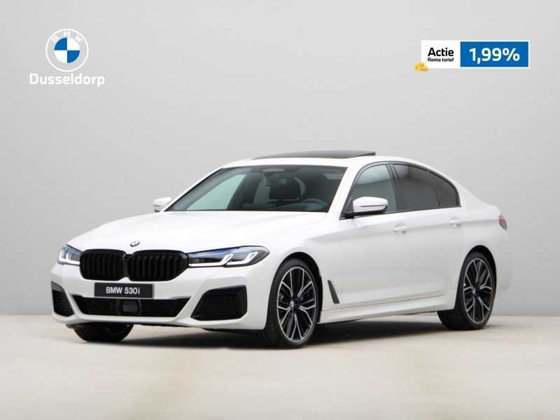 BMW 5 Serie 530i High Exe M-Sport LCI afbeelding 24