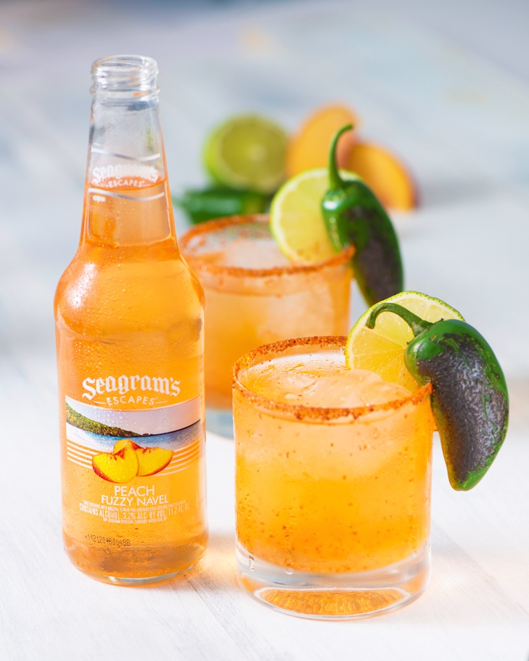 Spicy Peach Margarita Image