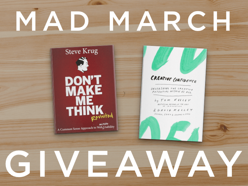 Mad March Giveaway (Design)