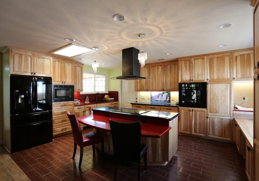 image of custom kitchen remodel in Ocean Beach